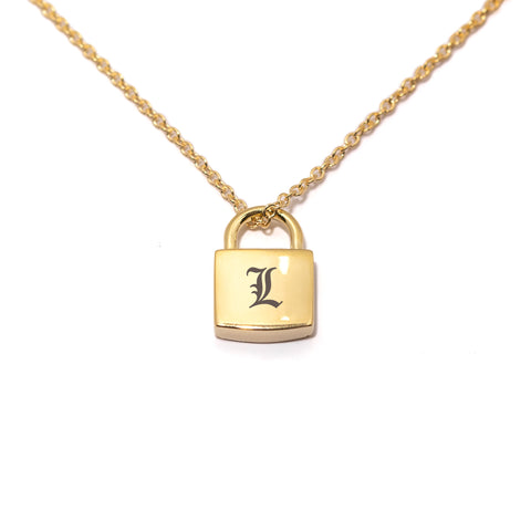 Locked On You Engravable Necklace
