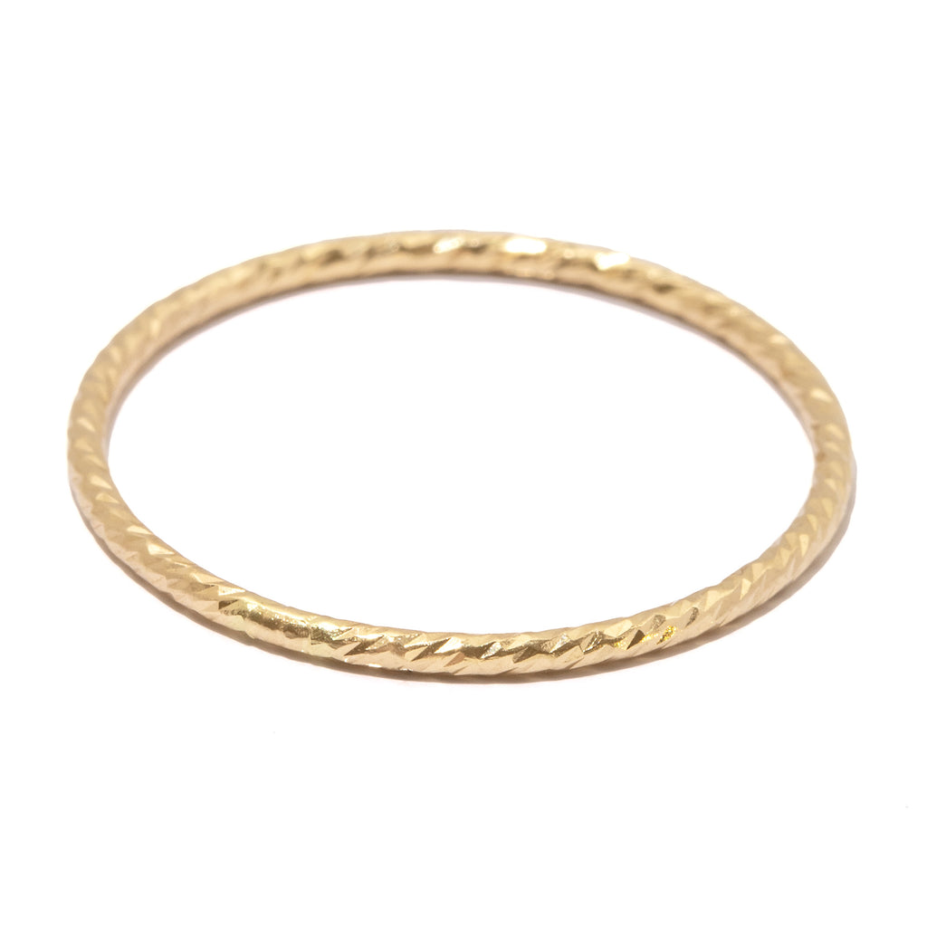 FS Essential Ring in 14k Gold