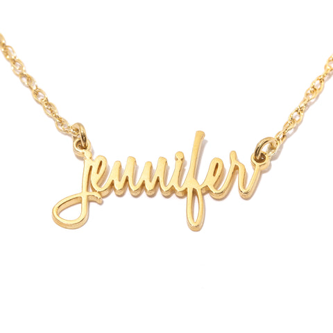 Sweetie Custom Nameplate Necklace