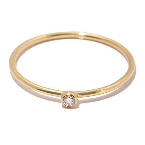 Belle Diamond Ring in 14k Gold