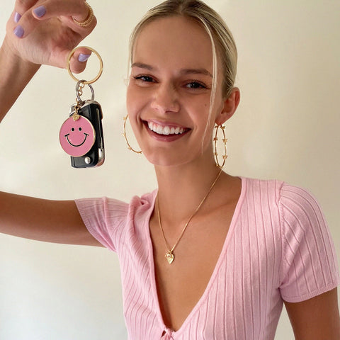 She's Smiley Keychain