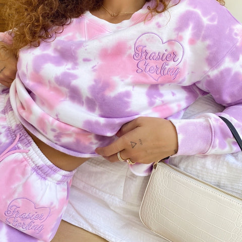 Cotton Candy Tie Dye Loungewear Set