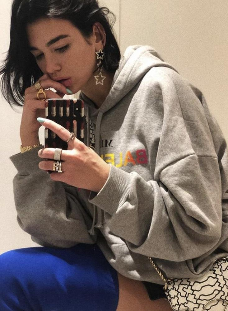 Shooting Star Earrings worn by Dua Lipa