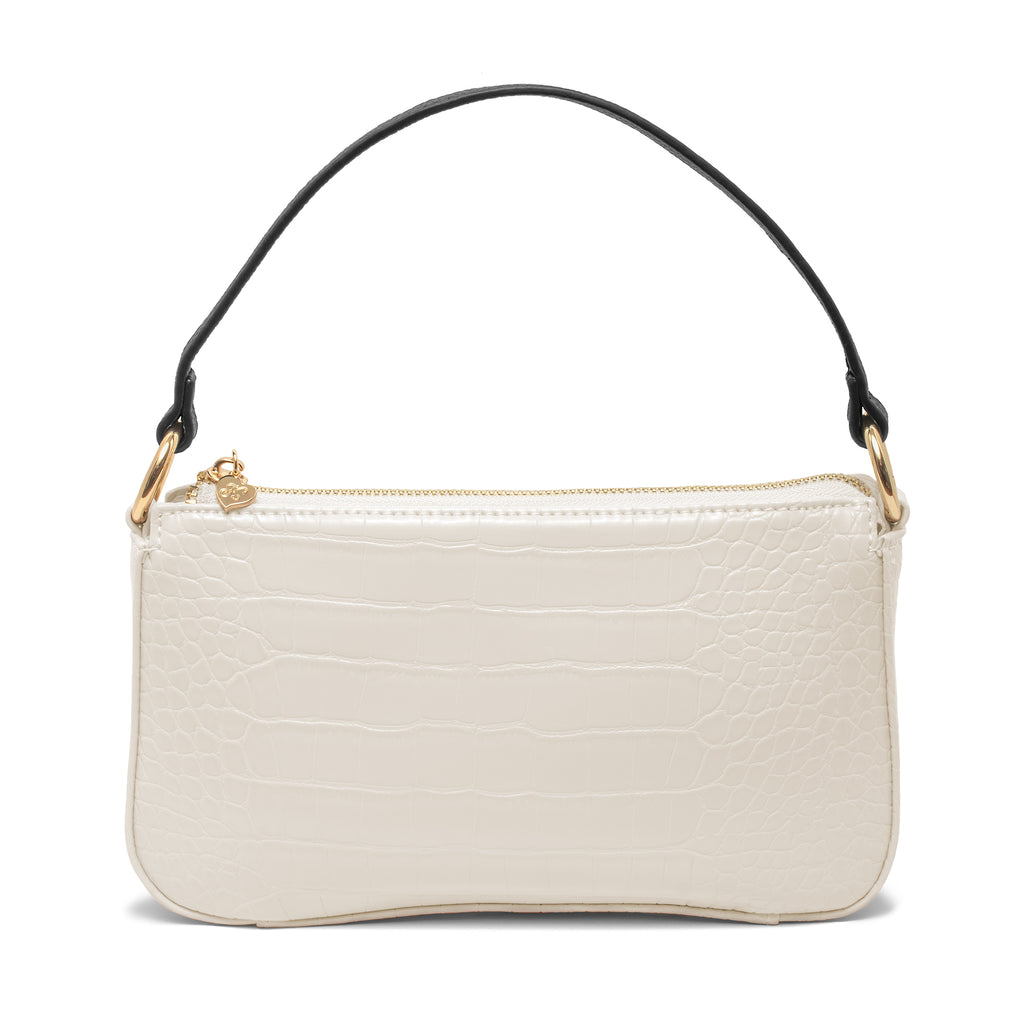 99% Angel Shoulder Bag in Pearl