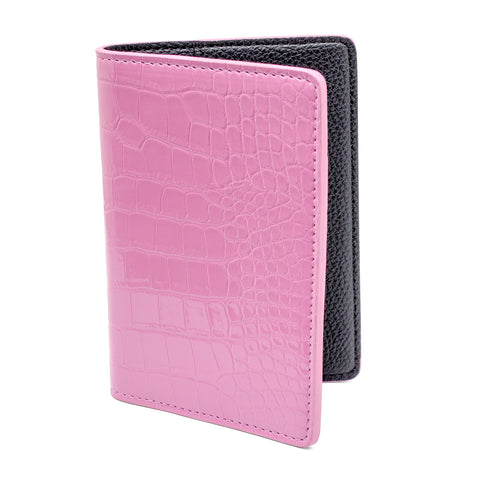 Destination Heaven Passport Case in Pink