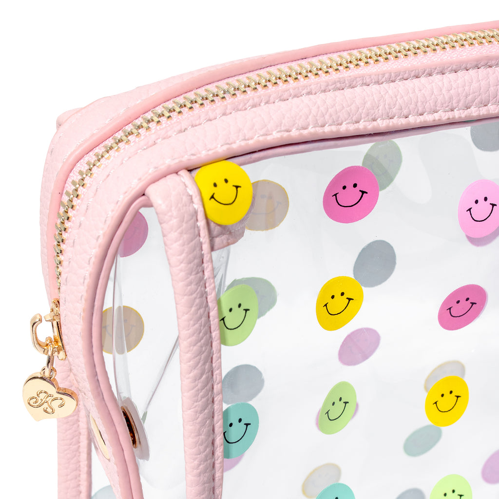 Smiley Gal Makeup Bag