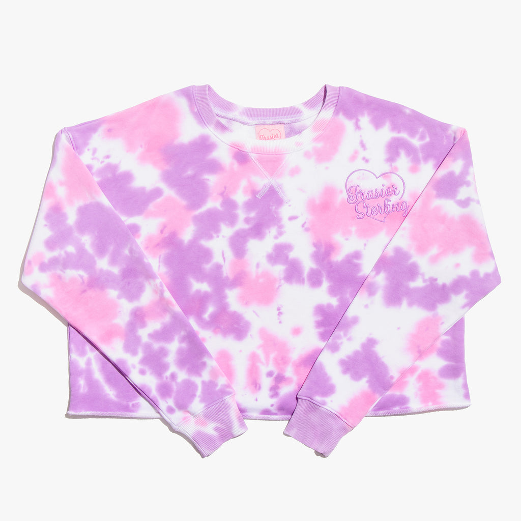 Cotton Candy Tie Dye Crewneck