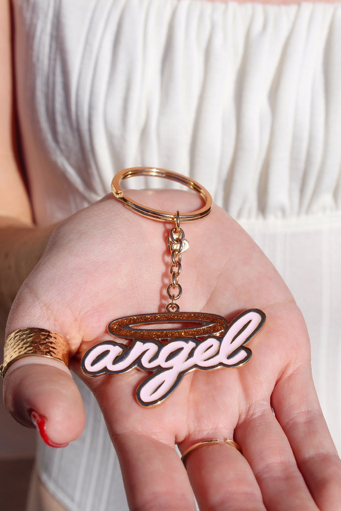 Total Angel Keychain