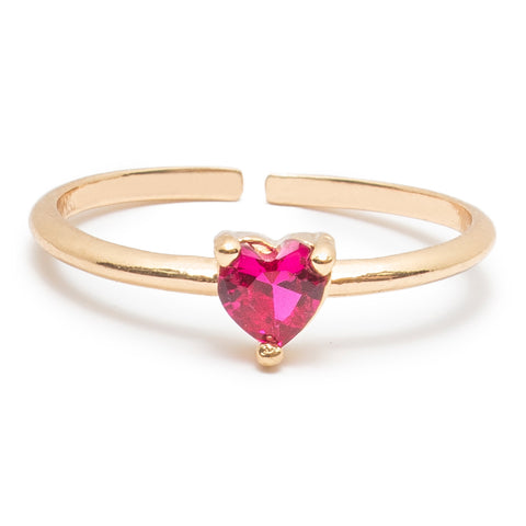 Touch of Glam Ring in Rose