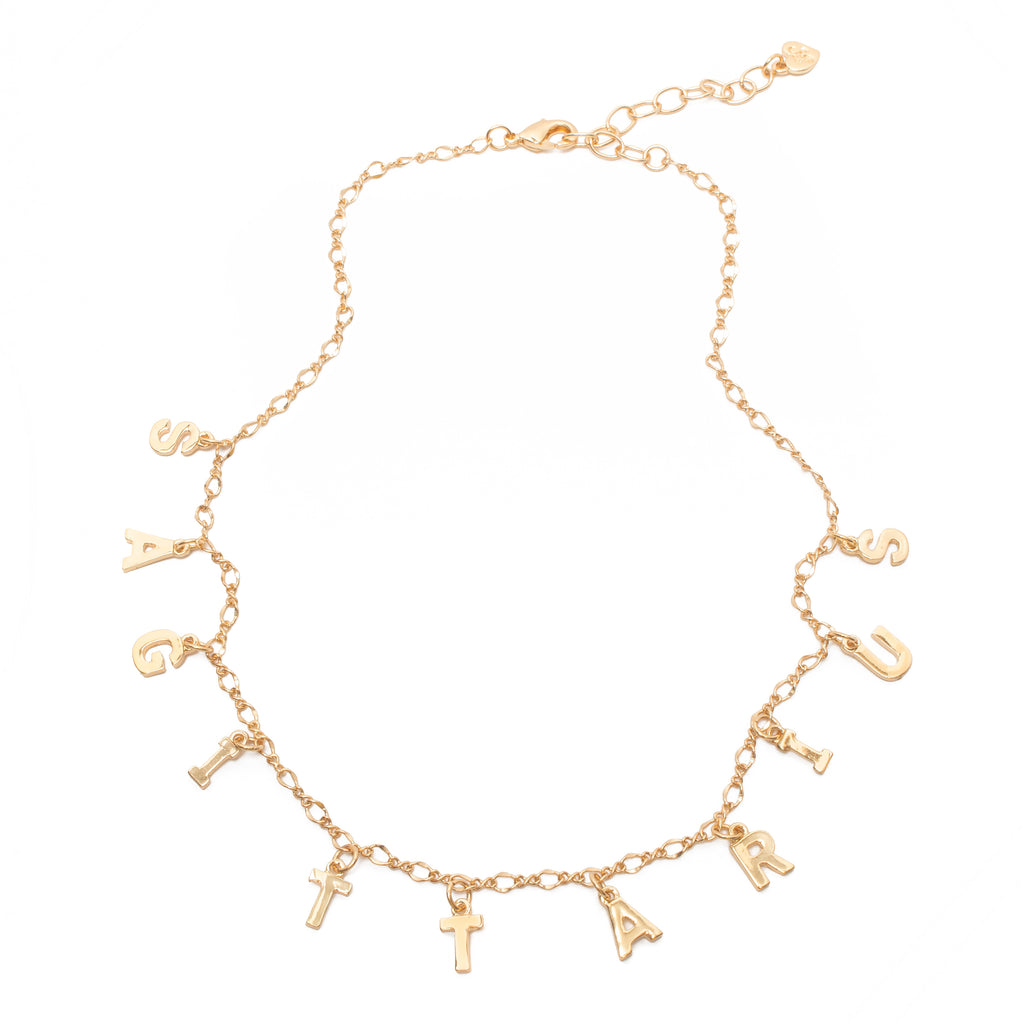 Zodiac Star Crossed Lovers Necklace