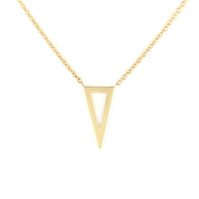 Gold Isosceles Necklace