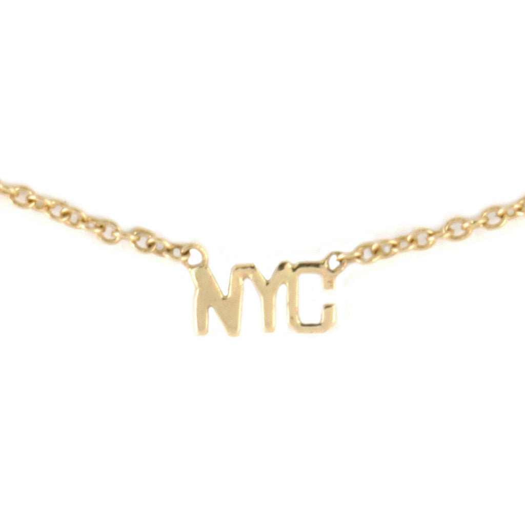 'NYC' Necklace