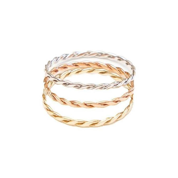 Braided Stacking Rings
