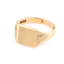 British Gold Signet Ring