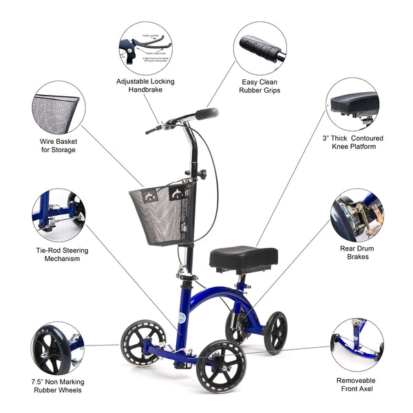 A Complete Guide to Choosing the Right Knee Walker