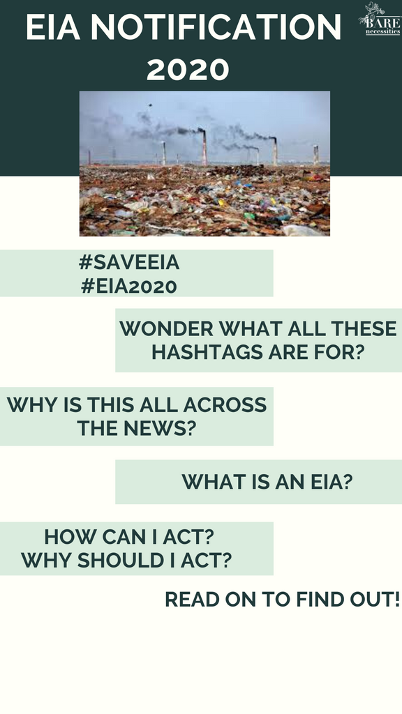EIA Notification 2020 #WithdrawEIA2020 #SaveEIA