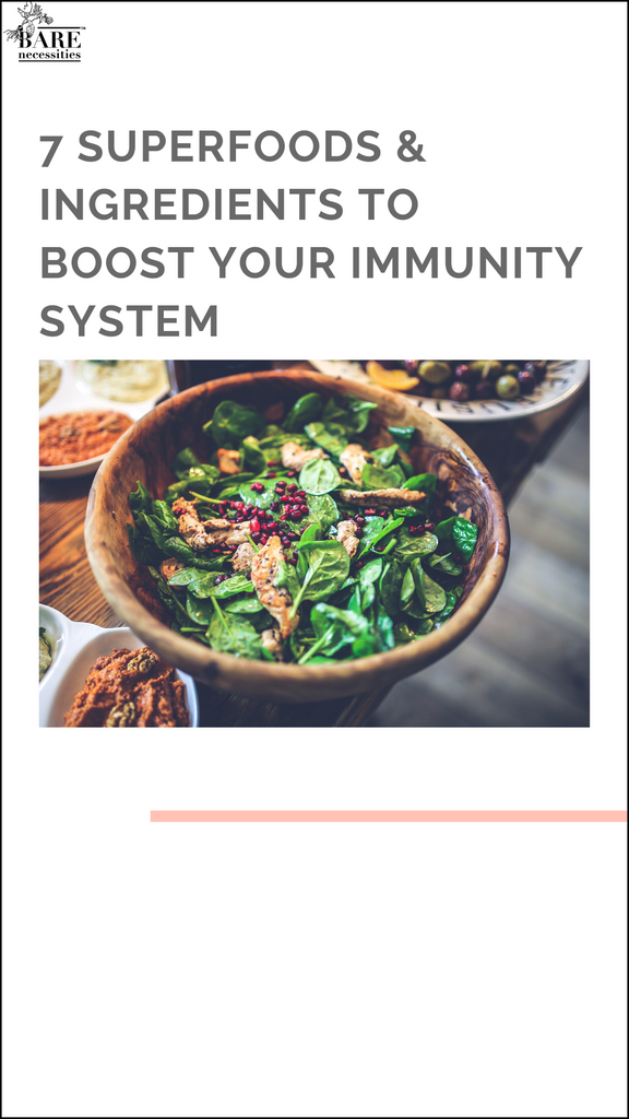 7 Superfoods & Ingredients to boost your immunity system