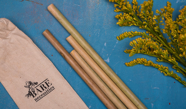 Pack Of Bamboo Straws
