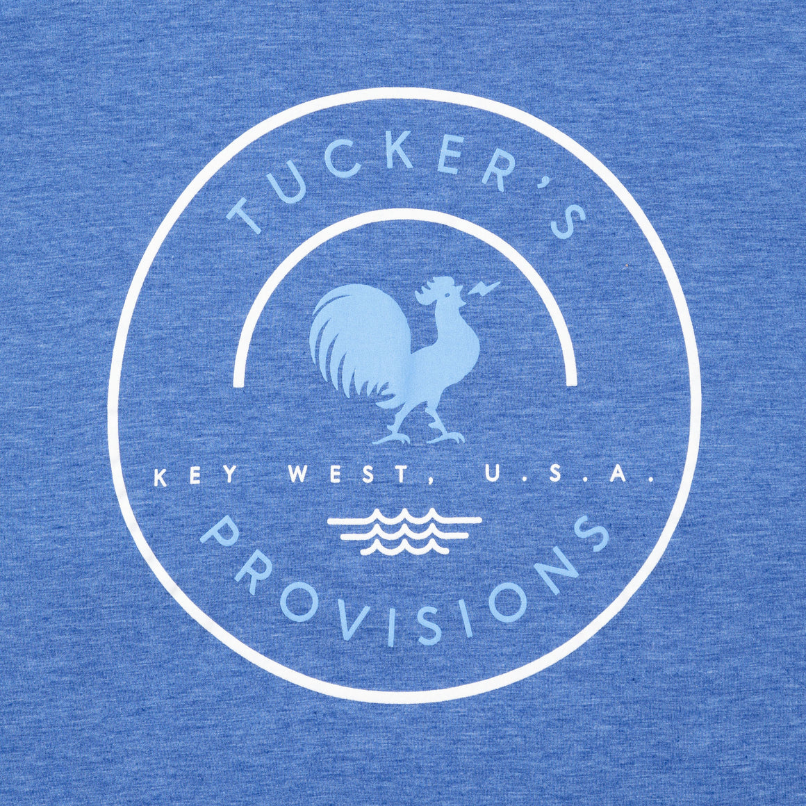 Tuckers Round Patch Rooster SP