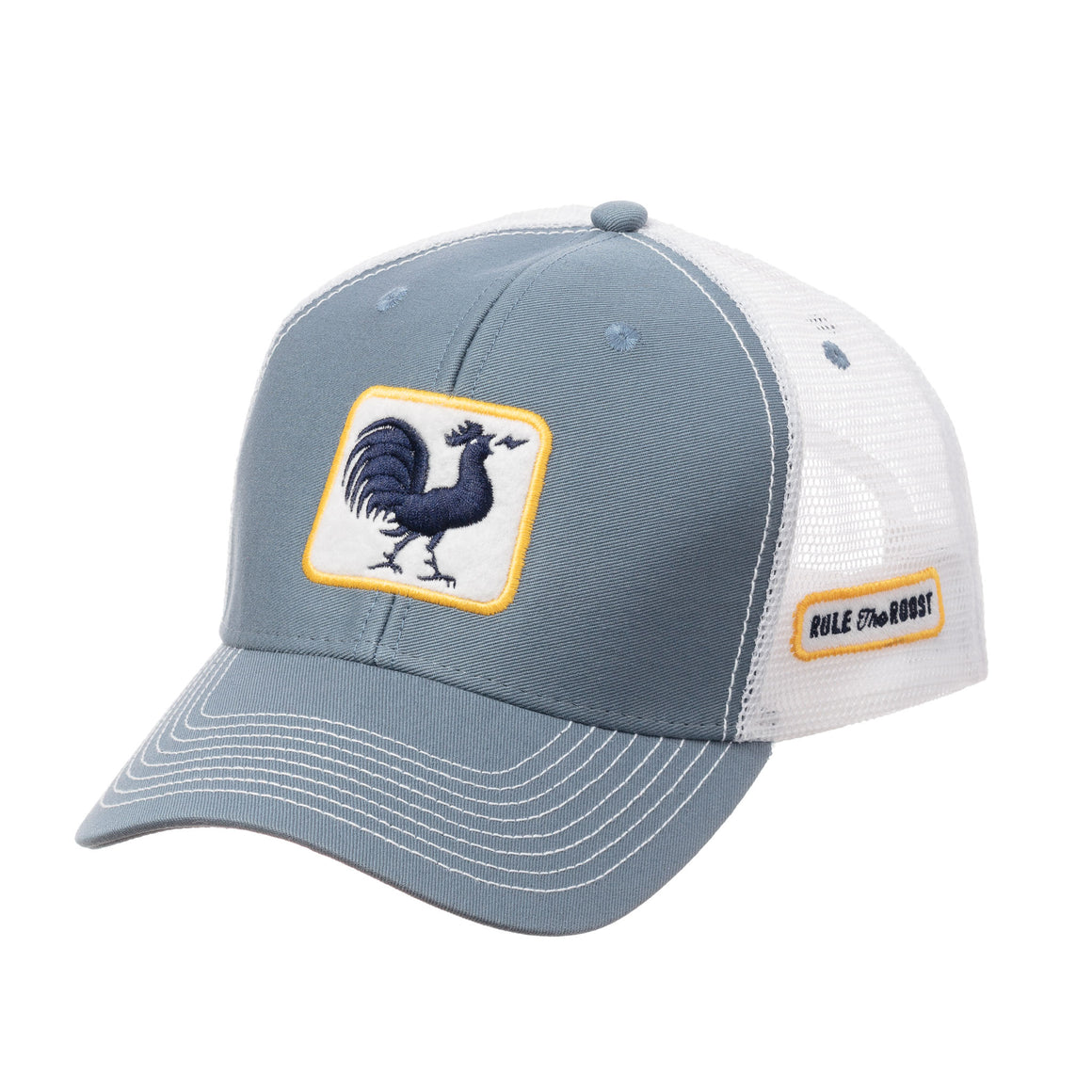 Kids Original Rooster Trucker Hat - Steel