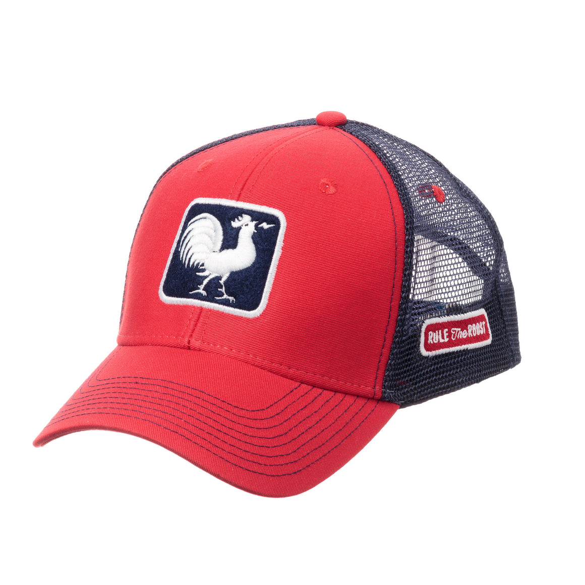 Original Rooster Trucker Hat - Red