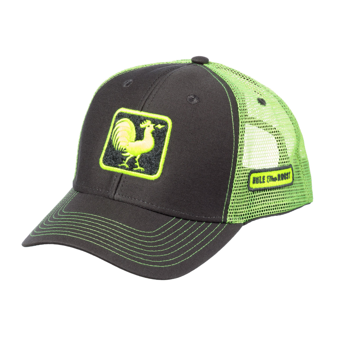 Original Rooster Trucker Hat - Lime