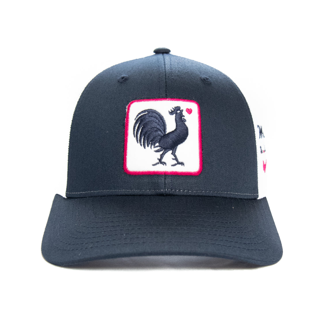 Original Rooster Trucker w/ Heart
