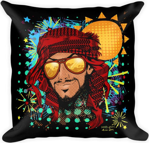 """Fahad"" Square Pillow - MOJATI"