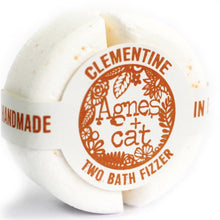 Load image into Gallery viewer, Agnes & Cat 2 Bath Fizzers Agnes & Cat Twelve Silver Trees Clementine