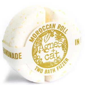 Agnes & Cat 2 Bath Fizzers Agnes & Cat Twelve Silver Trees Moroccan Roll