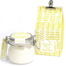 Load image into Gallery viewer, Agnes & Cat Soy Wax Kilner Jar Candle 80hrs Agnes & Cat Twelve Silver Trees Fresh Citrus