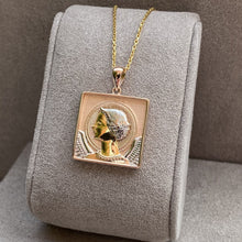 Load image into Gallery viewer, Byzantine Style Archangel Gabriel Pendant Necklace & Pendants Twelve Silver Trees Jewellery