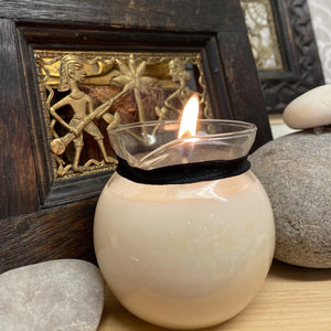 Handmade Soy & Jojoba Oil Massage Candles Candles Twelve Silver Trees Jewellery Relaxing