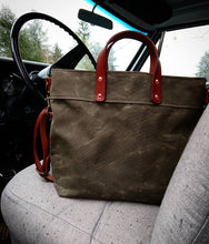 Quartermaster Harbor Zip Top Tote