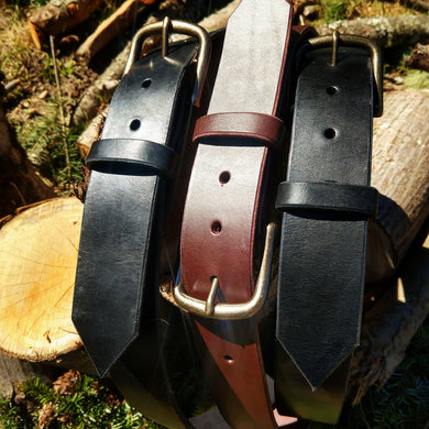Hold Fast - Bridle Leather Belt