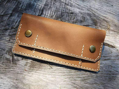 Natural Slim Trucket Wallet