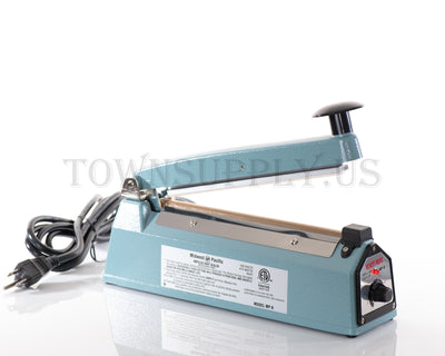 "8"" Hand-Operated Impulse Sealer for Stand Up Pouches"