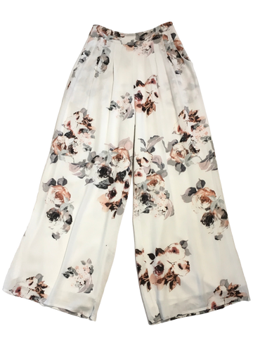 Moon River Floral Wide Leg Pants