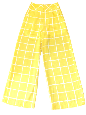 Moon River Yellow Wide Leg Pants