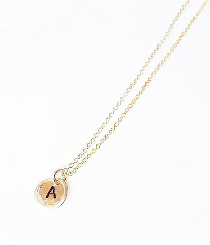 Disc Halo Necklace