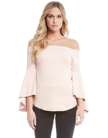 ROSE BELL SLEEVE TOP