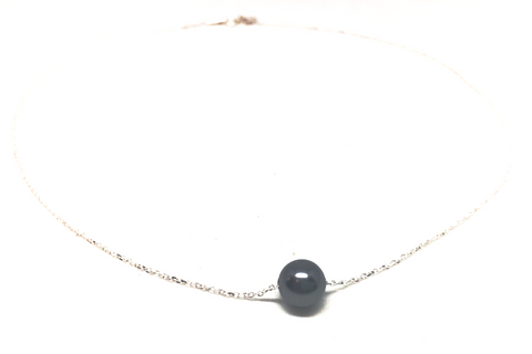 Gray Pearl Cure Necklace