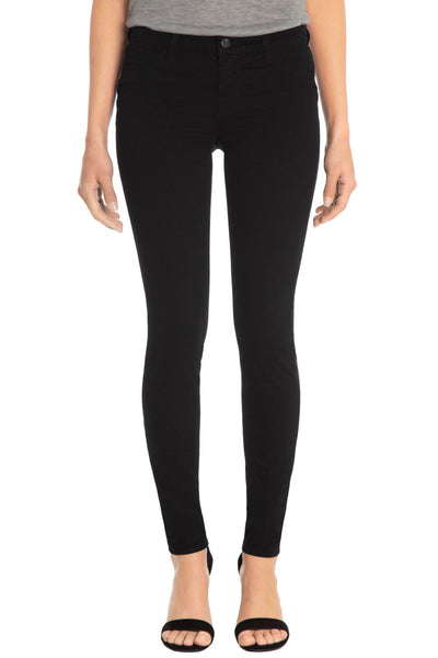 485 Luxe Sateen Mid-Rise Super Skinny