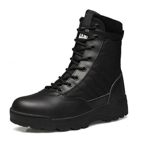 Men's Military Desert Breathable Boot Shoes Autumn Snow Ankle Boots