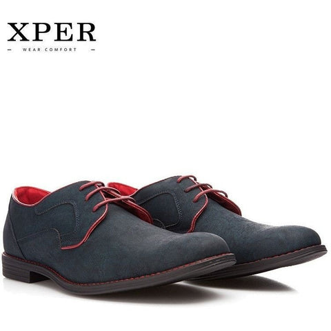 XPER Lace-Up Comfortable Wear Casual Shoes for Men