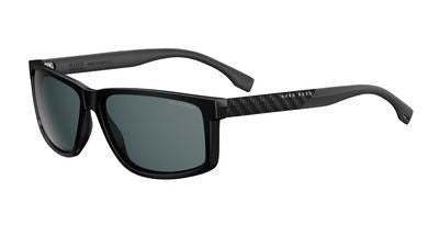 6b8a1525067 Hugo Boss 0879 Sunglasses 00J7 Shiny Black