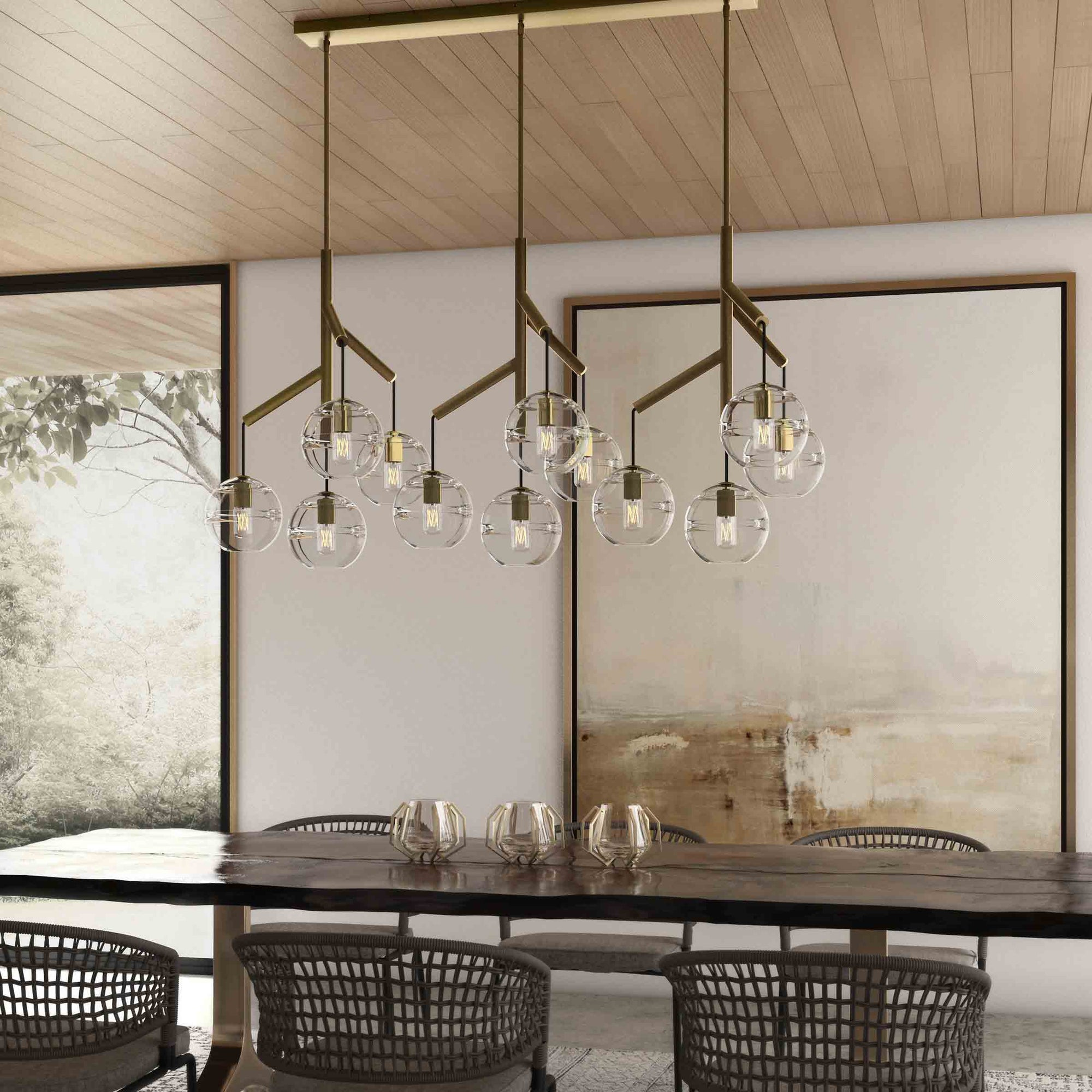 Tech Lighting Triple Sedona Pendant & Tech Lighting Triple Sedona Pendant - Form + Function