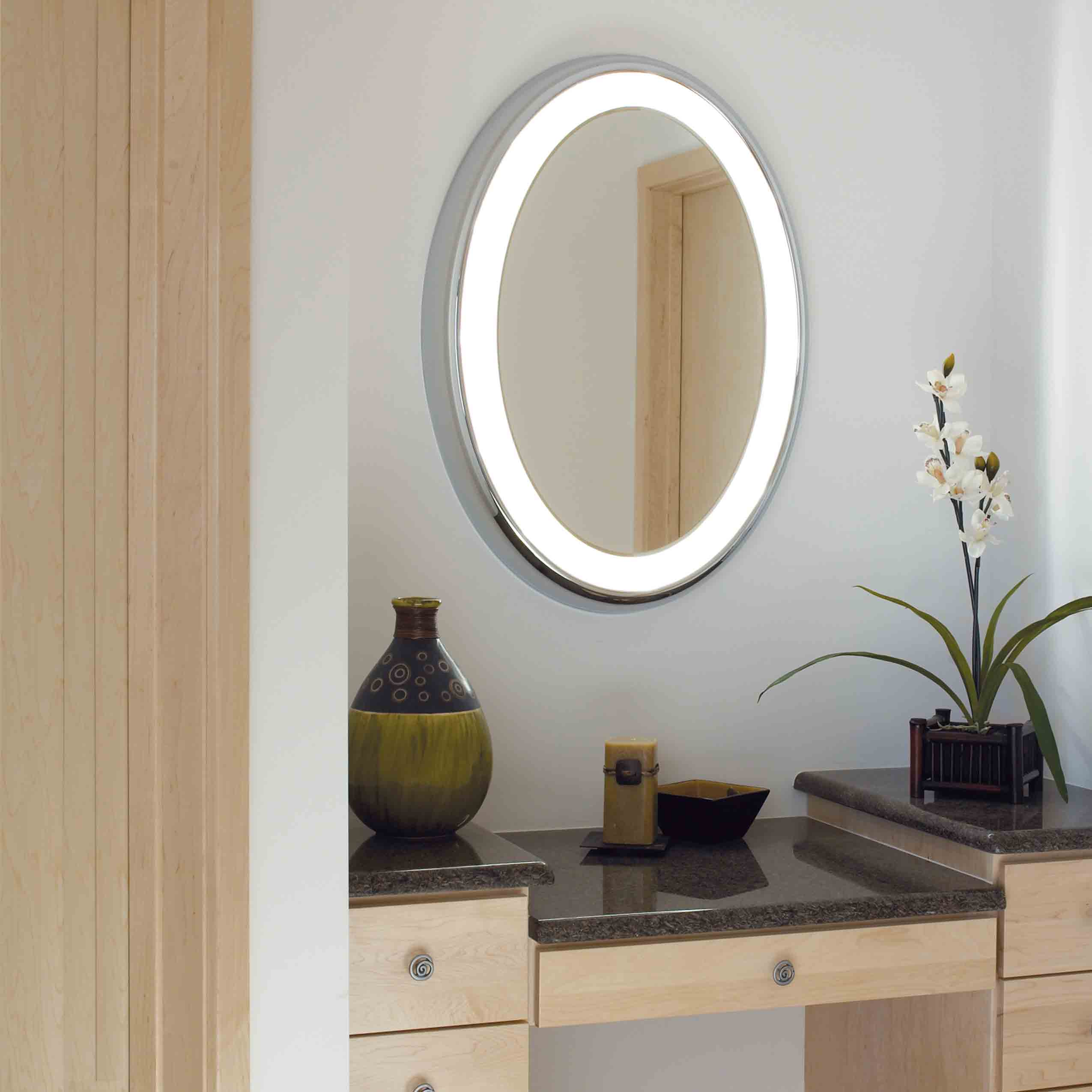 TIGRIS OVAL MIRROR