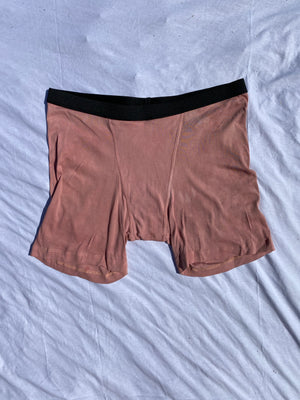 The pink boxer- naturally dyed