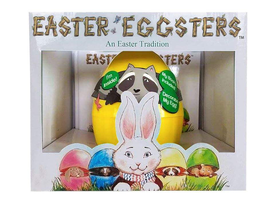 Yellow Easter Eggster